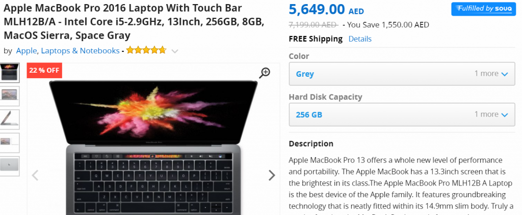 Apple Mac Book White Friday Deal