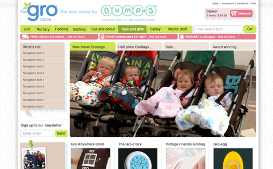 Baby Clothing and Accesories Magento Store