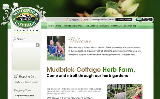 Herbs Magento Store