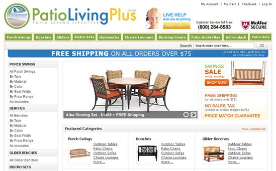 Patio Furniture Magento Store