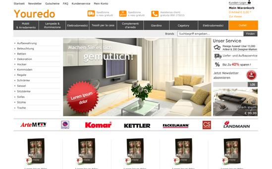 Furniture Magento Store